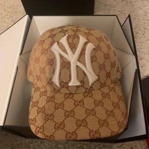 Gucci Yankees Hat